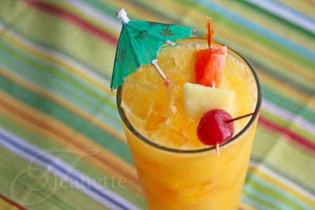 To This Mmmmm Punch Mocktail Juice Recipes