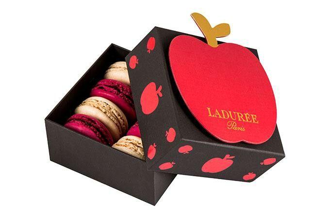 Laduree Macarons Apple Box Set