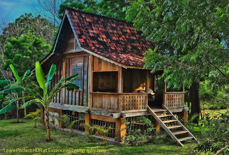 Village hut pemuteran bay bali indonesia i want to go to for Small house design made of wood