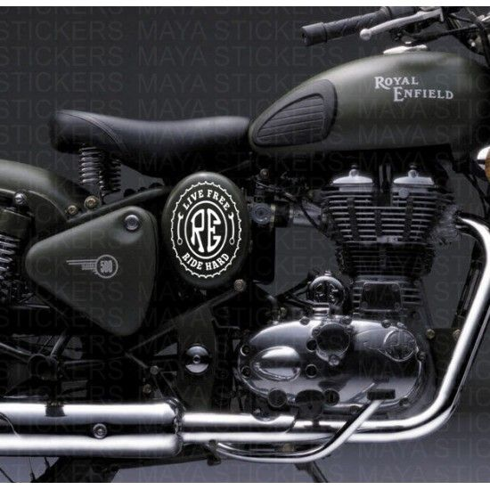 Best Royal Enfield Custom Stickers Images On Pinterest - Custom design car decals free