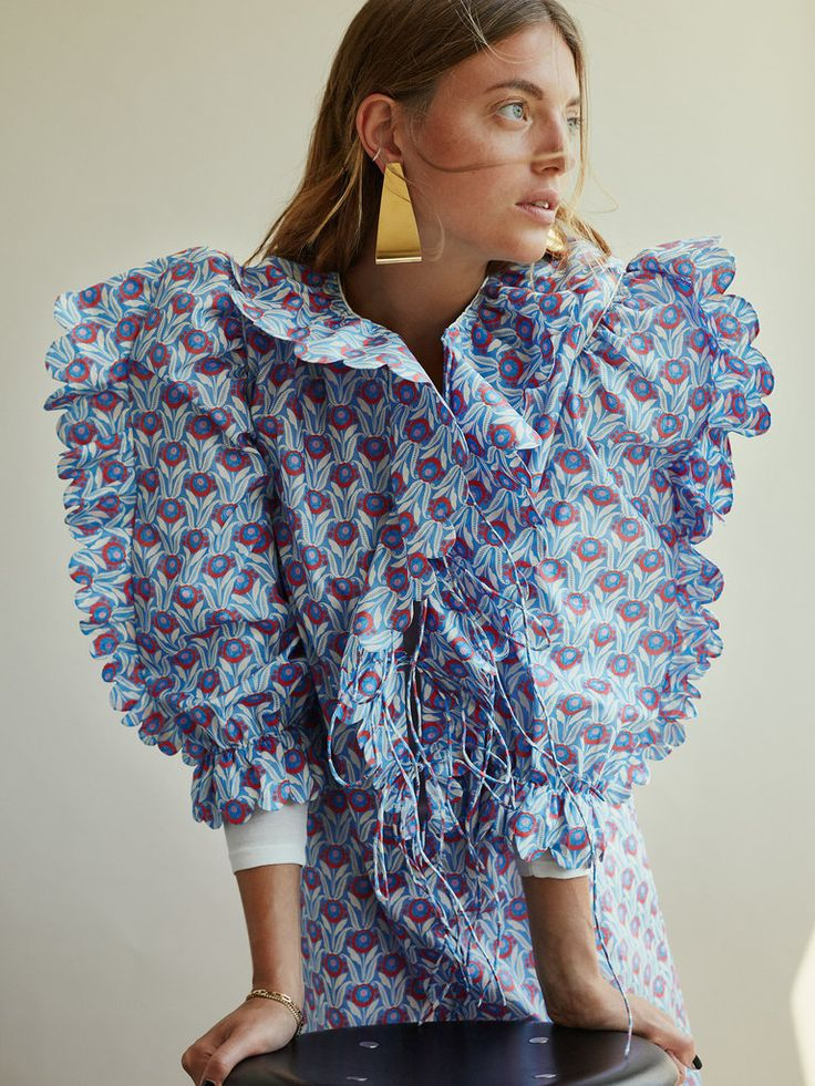 A German brand that makes pajamas and other items in vibrant prints.