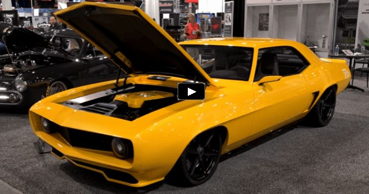 Mind Bending 1969 Inferno Camaro at SEMA 2016