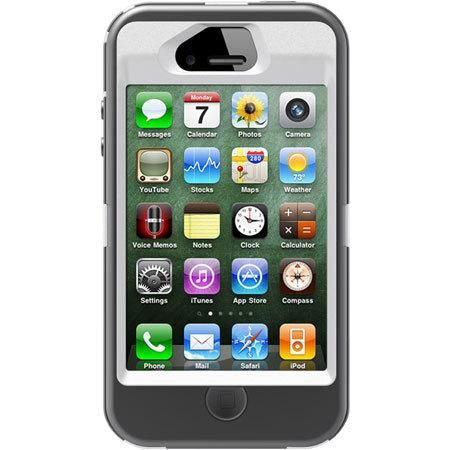 The iPhone 4 / 4S Defender Series case provides heavy duty protection against drops, dust and damage without taking away from the usability of the iPhone';s features. The iPhone 4S Defender... More Details
