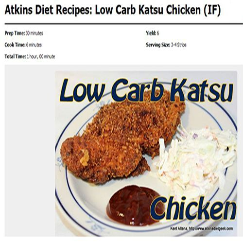 atkins diet information for free