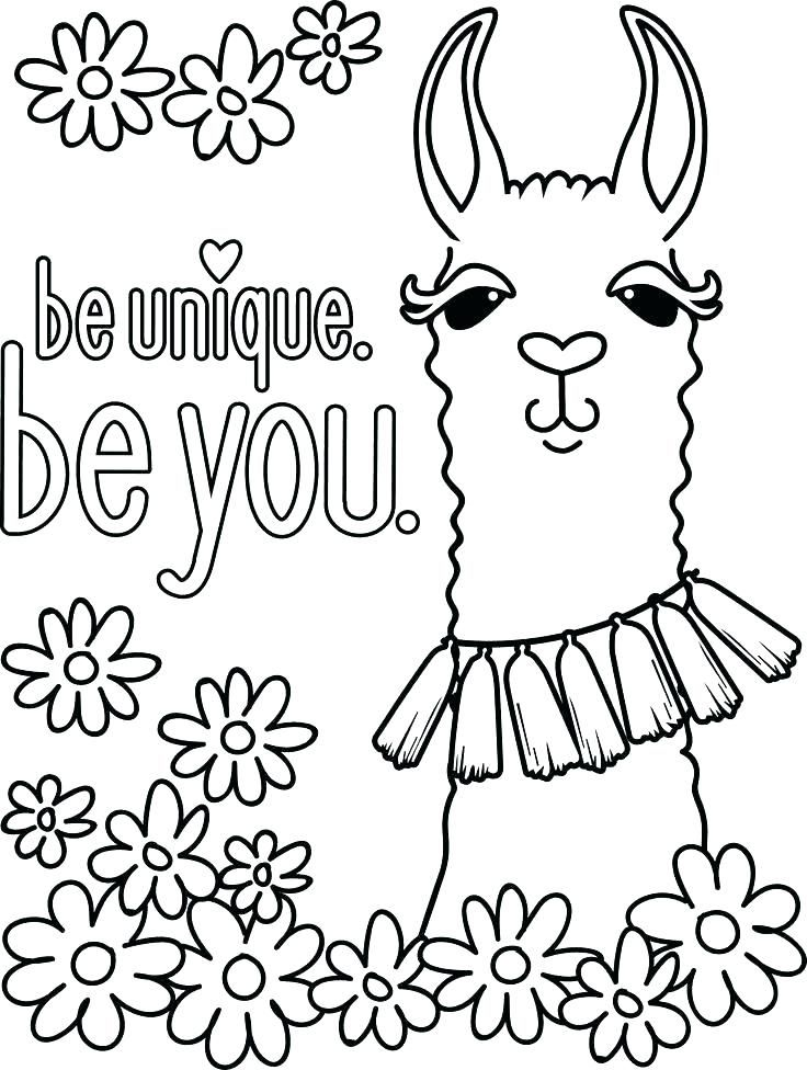 Pin On Llama Felt Crafts Free Coloring Pages For Felt Pattern Ideas