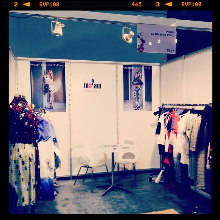Coterie Fashion Show  - booth 3247 at NYC Javit's Center September 2014