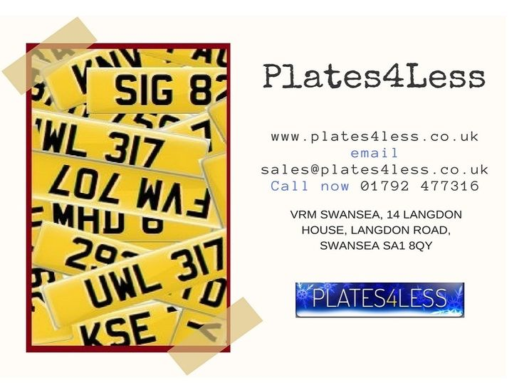 We have a huge stock of #number #plates, starts at just £58. Check out all the number plates and prices at plates4less.co.uk  #car #automotive #DVLA #privatenumberplates