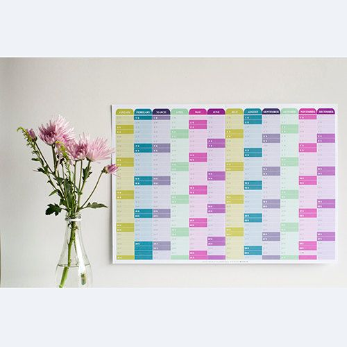 monthly excel planner