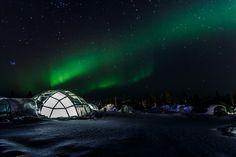 Lappland - Eishotel vs. Glasiglu