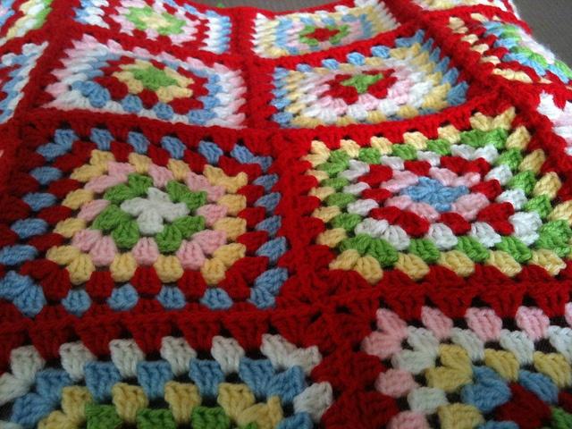 Cath Kidston Blanket by Crochet and Cookbooks, via Flickr
