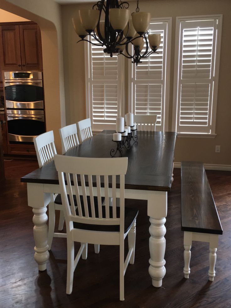 This 8u0027 X 42u201d X 30u201d H Baluster Table Featuring A Jointed Top. Dark Walnut  StainSolid Wood ...