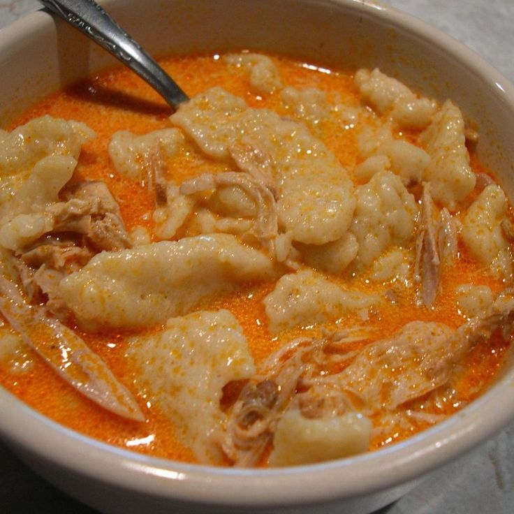 This is my Grandmothers version of Hungarian Chicken Paprikash.