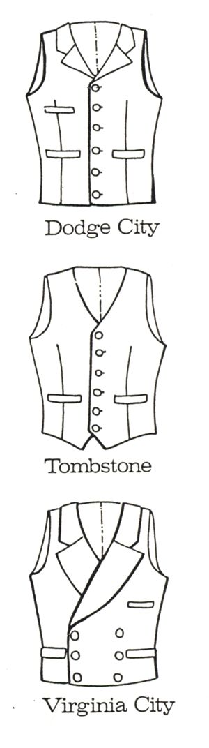 western shirt patterns 1880s | Buckaroo Bobbins Western Clothing Wholesale Patterns