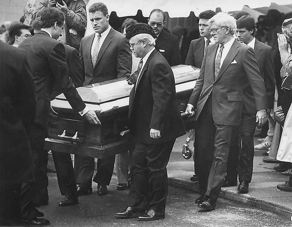 Image result for ryan white funeral, april 11, 1990
