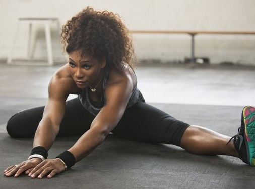 Nike Training Camp: Serena Williams' Core Training.............  Nike Training Club is an Apple (or Droid) based app, a variety of workout routines straight from professional athletes, that can be downloaded to choose workout routines, set fitness goals, and much more.