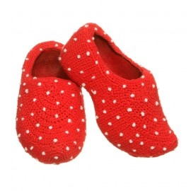 Crocheted wooden shoes by http://www.mumami.nl/ €39.00 #Fashion