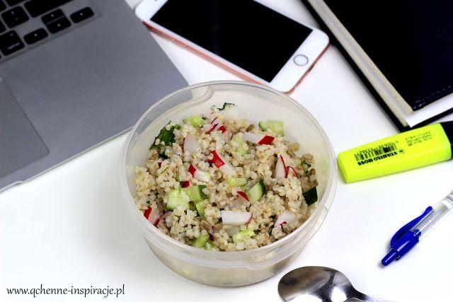 Qchenne-Inspiracje! Odchudzanie, dietoterapia, leczenie dietą: Lunch box do zabrania do pracy, szkoły, na uczelni...