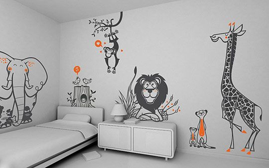 Wall Decal – the Way to Make a Wall Unique