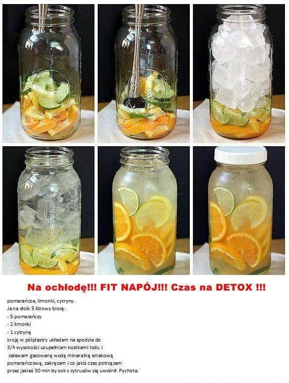 Zobacz jak zrobić FIT napój DETOX!!!