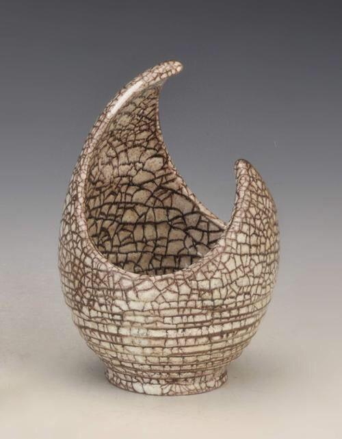 Gorka Géza ceramic vase