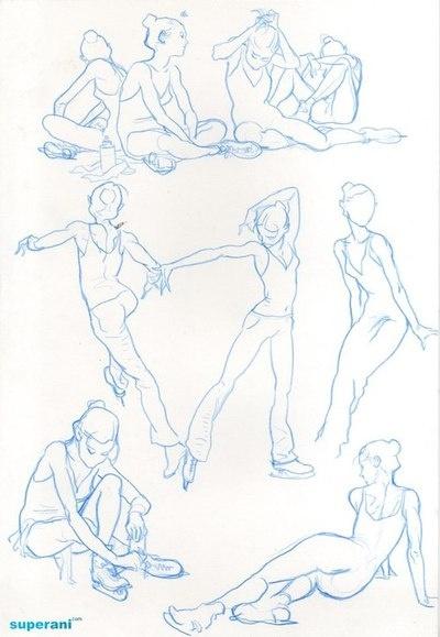 Kim Jung Gi, skater figure. #art