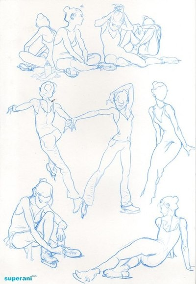 Kim Jung Gi, skater figure. #art Reference drawings.