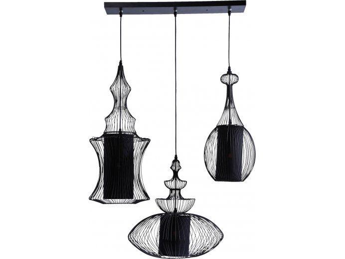 Lampa Wisząca Swing Iron IV Kare Design