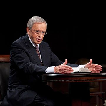 """Charles Stanley preaching - """"When all Hope is Gone""""  There is no such thing as """"beyond repair"""" for God."""