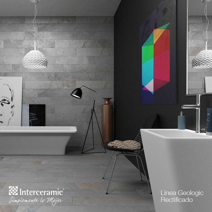 Un #baño moderno.
