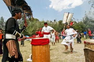 Party with the desendant of the last Aztec emperor