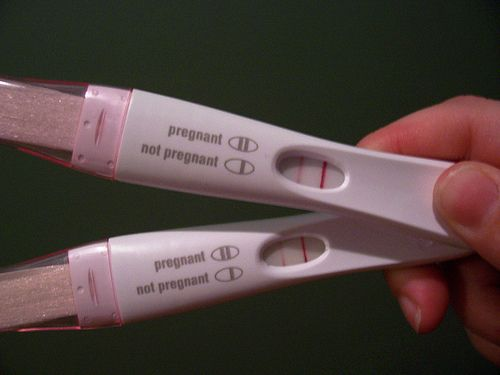 picture of a positive pregnancy test for fb   Two Pregnancy Test Positives