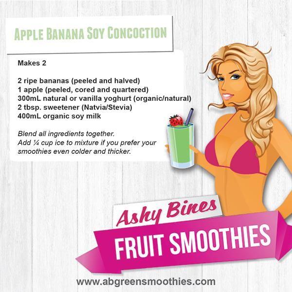 Ashy Bines - Apple Banana Soy Concoction