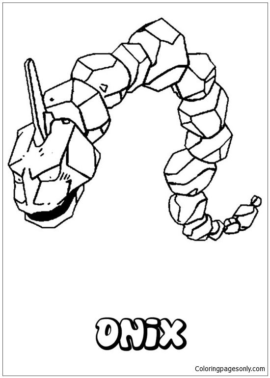 onix coloring page coloring pages
