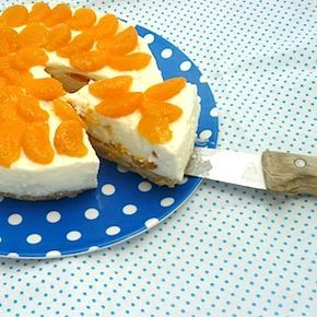 Maak jij een lekkere taart op Koningsdag? Met deze mandarijn-yoghurttaart zit je ook bij kinderen goed! Recept op http://dekinderkookshop.nl/recepten-voor-kinderen/mandarijn-yoghurttaart/