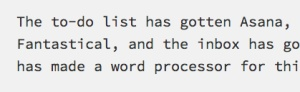 Draft Is The Best Word Processor You Can Write With Today