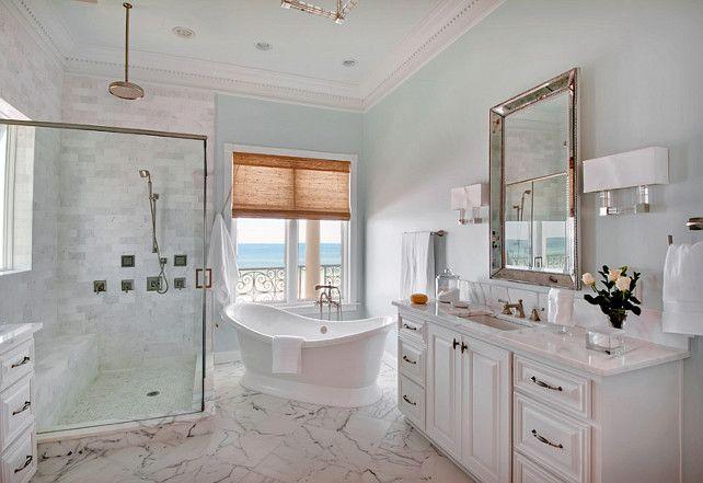 Paint Color Benjamin Moore 2123 50 Ocean Air Benjaminmoore Paintcolor Oceanair Home Pinterest House Bathroom And Beach