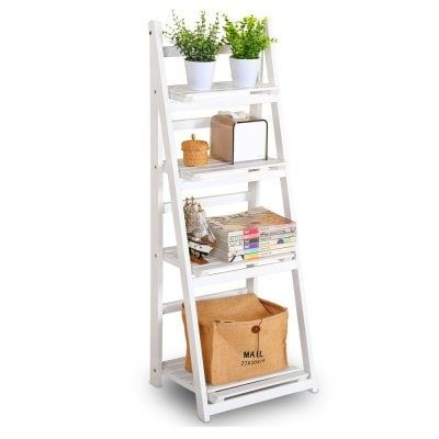 Just US$82.83 + , buy Foldable Plant Stand Flower Ladder Rack, Solid Wood (4-Tier) online shopping at GearBest.com.
