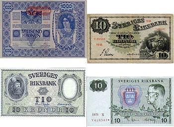 Om mynt, sedlar och polletter med samlarvärde.