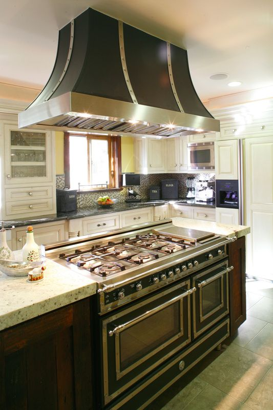 Island Range Hoods For Gas Stoves ~ Best images about bertazzoni heritage series on