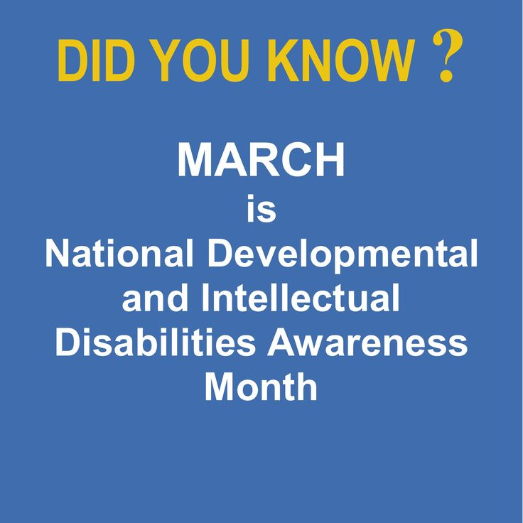 March is National Developmental and Intellectual Disabilities Awareness Month. Help us celebrate the valuable contributions people living with developmental and intellectual disabilities are making every day by copying and posting this as your status during March. Get more information on the programs and services, employment opportunities, Seniors program, rehabilitation and clinical services provided by The Douglas Center at www.thedouglascenter.com
