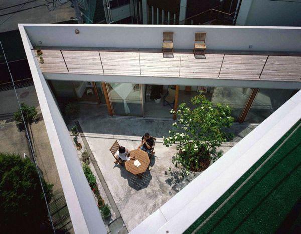 takeshi hosaka architects garden house 1 Takeshi Hosaka Architects Garden House