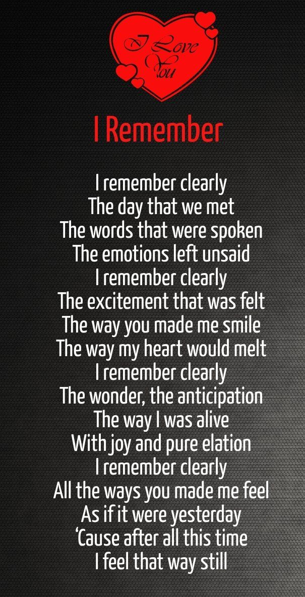 17 Best Ideas About Love Poem For Her On Pinterest
