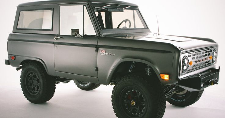 Long before it became a rather large vehicle used by former Heisman winners for low-speed pursuits across Los Angeles, the Ford Bronco wa...