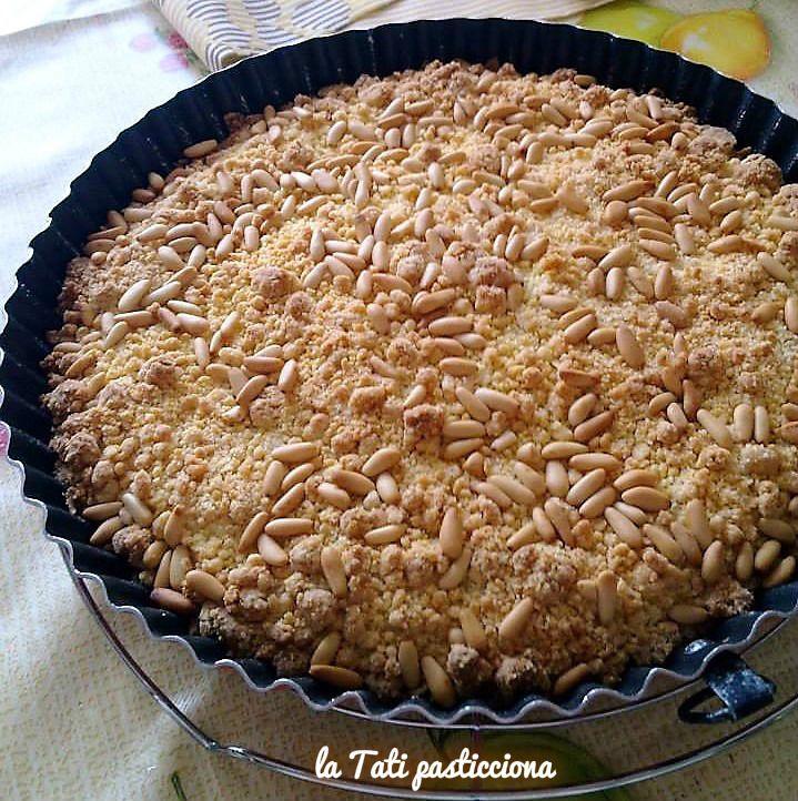 torta della nonna sbriciolata