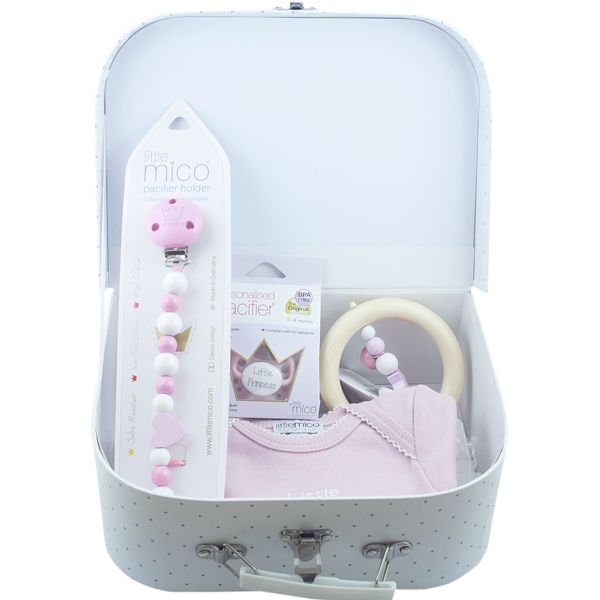 "Littlemico ""Welcome Suitcase Gift Set"", Pink"