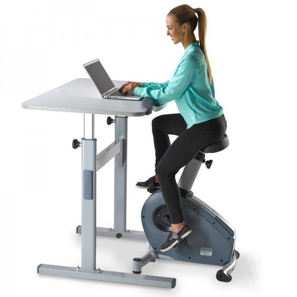 Add Fitness To Your Worke With A Customizable Bike Desk From Lifespan Workplace The For Stylish Active Solution