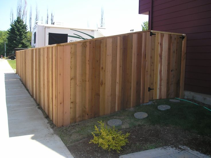 25 Best Images About Privacy Wood Fence On Pinterest