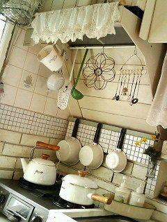 賃貸・団地のキッチンをプチDIYでナチュラルな暮らし - NAVER まとめ