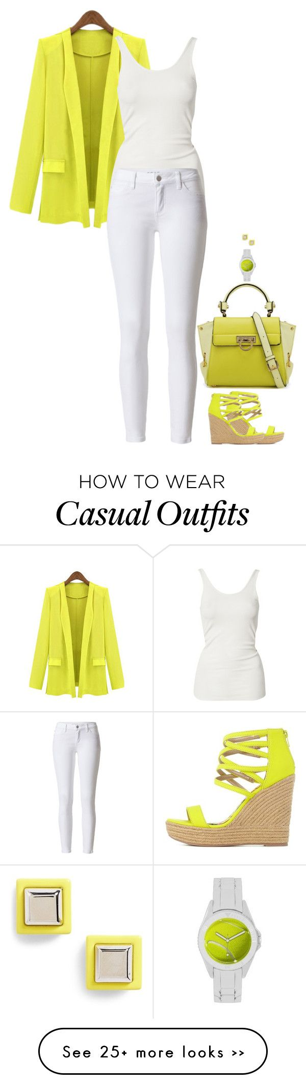 """Casual Chic"" by miki006 on Polyvore"