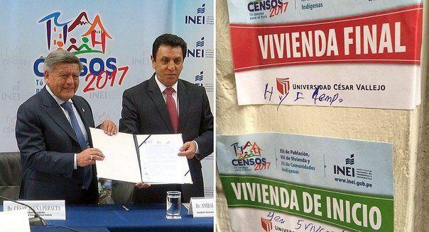 INEI FIRMÓ CONVENIOS CON MÁS DE 3 UNIVERSIDADES LIGADAS A CÉSAR ACUÑA